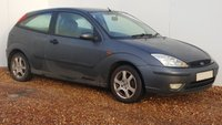 USED 2002 52 FORD FOCUS 1.6 ZETEC CHIC 3d 100 BHP