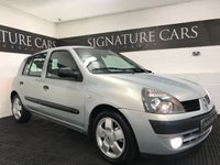 USED 2004 54 RENAULT CLIO 1.4 EXPRESSION 16V 5d AUTO 98 BHP