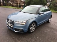 USED 2011 60 AUDI A1 1.6 TDI SPORT 3d 103 BHP GREAT COLOUR UPGRADED ALLOYS FSH 1 OWNER