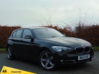 USED 2012 12 BMW 1 SERIES 1.6 116I SPORT 5d * BUY NOW PAY NOTHING FOR 6 MONTHS *
