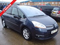 USED 2007 07 CITROEN C4 GRAND PICASSO 2.0 EXCLUSIVE HDI EGS 5d AUTO 135 BHP