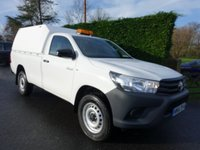 USED 2016 66 TOYOTA HI-LUX ACTIVE 4x4 Single Cab Pick Up 2.4 D4D 150ps Rare New Model 4x4 Single Cab Toyota Hilux Active