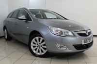 USED 2012 12 VAUXHALL ASTRA 2.0 SE CDTI 5DR AUTOMATIC 162 BHP HALF LEATHER + BLUETOOTH + PARKING SENSOR + CRUISE CONTROL + MULTI FUNCTION WHEEL + AUXILIARY PORT + 17 INCH ALLOY WHEELS