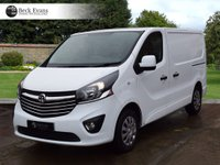 USED 2015 65 VAUXHALL VIVARO 1.6 2700 L1H1 CDTI P/V SPORTIVE 1d 114 BHP CHOICE OF VANS PLY LINED LOW MILEAGE CHOICE OF VANS