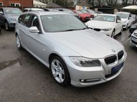 2011 BMW 3 SERIES 2.0 318I EXCLUSIVE EDN TOURING 5d AUTO + NAV + FULL LEATHER £9999.00