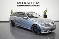 2013 MERCEDES-BENZ C CLASS 2.1 C220 CDI BLUEEFFICIENCY AMG SPORT PLUS 5d AUTO 168 BHP £12990.00