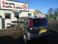 USED 2009 59 NISSAN NOTE 1.4 N-TEC 5d 87 BHP £22 PER WEEK NO DEPOSIT, SEE FINANCE LINK BELOW