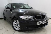 USED 2009 09 BMW 1 SERIES 2.0 116I ES 5DR 121 BHP FULL SERVICE HISTORY + AIR CONDITIONING + RADIO/CD + ELECTRIC WINDOWS + 16 INCH ALLOY WHEELS