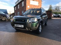 USED 2004 04 LAND ROVER FREELANDER 2.0 TD4 SE STATION WAGON 5d 110 BHP Clean example for its age