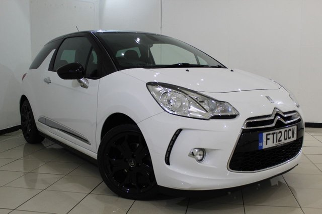 View our 2012 12 CITROEN DS3 1.6 DSTYLE PLUS 3DR 120 BHP