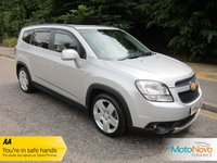 USED 2014 63 CHEVROLET ORLANDO 2.0 LTZ VCDI 5d 161 BHP Fantastic One Owner Low Mileage Orlando Executive Pack with Seven Seats, Satellite Navigation, Full Grey Leather, Climate Control, Cruise Control, Alloy Wheels and Service History