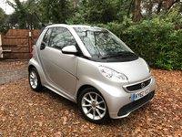 2012 SMART FORTWO CABRIO 1.0 PASSION MHD 2d 71 BHP £4789.00