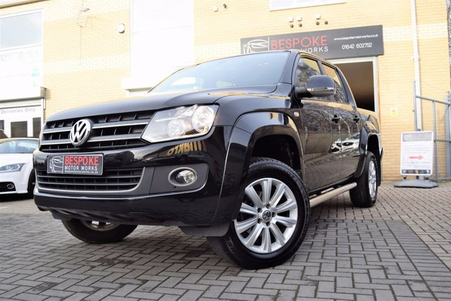2015 15 VOLKSWAGEN AMAROK 2.0 TDI DOUBLE CAB HIGHLINE 4MOTION 180 BHP AUTOMATIC