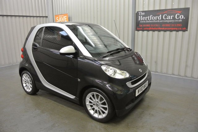 2010 10 SMART FORTWO 1.0 PASSION MHD 2d AUTO 71 BHP