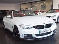"USED 2014 14 BMW 4 SERIES 2.0 420D M SPORT 2d AUTO 181 BHP M PERFORMANCE KIT+20"" ALLOYS"