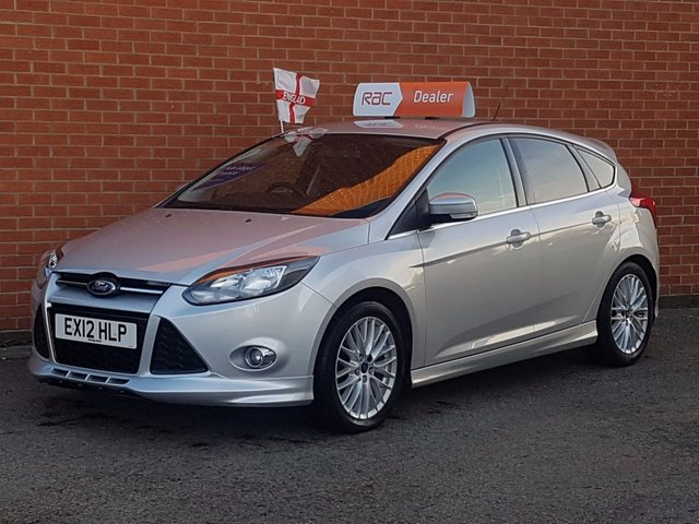 2012 12 FORD FOCUS 1.6 ZETEC S TDCI 5d 113 KEY-LESS   DAB RADIO