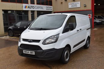 2014 FORD TRANSIT CUSTOM 2.2 290 LR P/V 5d 100 BHP SWB ECO-TECH FWD L1 DIESEL MANUAL PANEL VAN £6990.00