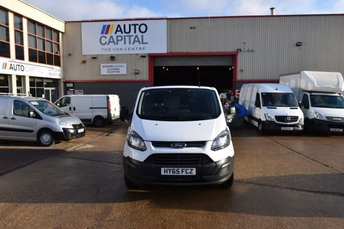 2015 FORD TRANSIT CUSTOM 2.2 290 LR P/V 5d 100 BHP SWB ECO-TECH FWD L1 DIESEL MANUAL PANEL VAN £9490.00