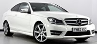 USED 2012 62 MERCEDES-BENZ C CLASS 2.1 C220 CDI BlueEFFICIENCY AMG Sport 7G-Tronic Plus 2dr Full Mercedes Service History