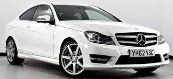 2012 MERCEDES-BENZ C CLASS 2.1 C220 CDI BlueEFFICIENCY AMG Sport 7G-Tronic Plus 2dr £12995.00