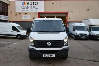 2012 VOLKSWAGEN CRAFTER CRAFTER CR30 TDI 109 5DOOR A/C 3SEAT 107 BHP REAR WD LOW ROOF SHORT WHEELBASE A/C £6490.00