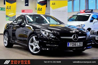 2016 MERCEDES-BENZ SLK 1.8 SLK200 BLUEEFFICIENCY AMG SPORT 2d 184 BHP £20000.00