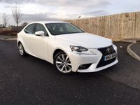 2014 LEXUS IS 2.5 300H EXECUTIVE EDITION 4d AUTO 179 BHP £14850.00