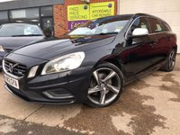USED 2012 12 VOLVO V60 2.4 D5 R-DESIGN LUX 5d 212 BHP