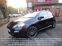 2013 FIAT PUNTO 1.4 JET BLACK 3d 77 BHP £SOLD