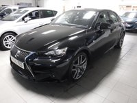 USED 2015 65 LEXUS IS 2.5 300H F SPORT 4d AUTO 179 BHP