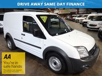 2009 FORD TRANSIT CONNECT 1.8 T200 LR  90 BHP  - NO VAT TO PAY -  £4250.00