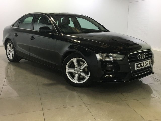 View our 2013 63 AUDI A4 2.0 TDI SE 4d 134 BHP