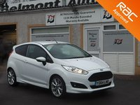 USED 2014 64 FORD FIESTA 1.0 ZETEC S 3d 124 BHP Bluetooth ,Voice Activated controls , 3 Service  stamps