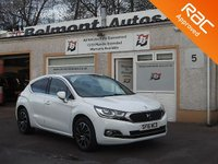 USED 2016 16 DS DS 4 1.6 BLUEHDI ELEGANCE S/S 5d 120 BHP Bluetooth , Colour Changing, Dashboard, Sat Nav