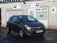 USED 2013 13 VAUXHALL CORSA 1.2 SXI 3d 83 BHP Privacy Glass , Daytime running lights ,3 service stamps