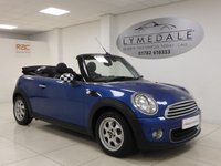 USED 2013 63 MINI CONVERTIBLE 1.6 ONE 2d 98 BHP Stunning, Full Dealer History, MOT 19.12.18, 1 Owner