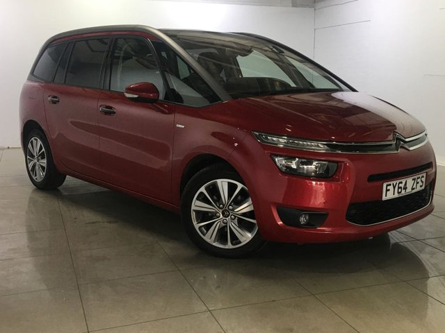 View our 2014 64 CITROEN C4 GRAND PICASSO 1.6 E-HDI AIRDREAM EXCLUSIVE PLUS ETG6 5d AUTO 113 BHP