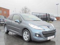USED 2010 60 PEUGEOT 207 1.4 SPORT 3d 95 BHP FULL SERVICE HISTORY, 12 MONTHS MOT, 2 KEYS. EXCELLENT CONDITION