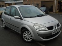 USED 2008 57 RENAULT SCENIC 1.9 DYNAMIQUE S DCI 5d 130 BHP ONLY 2 FORMER KEEPER+MOT JULY
