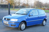 USED 2000 VOLKSWAGEN POLO Polo 1.0 E 3 Door Perfect 1st Car or Commuter Car