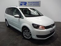 USED 2014 64 VOLKSWAGEN TOURAN 1.6 SE TDI BLUEMOTION TECHNOLOGY 5d 103 BHP