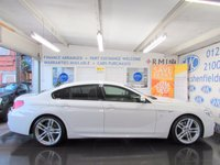 USED 2016 16 BMW 6 SERIES 3.0 640I M SPORT GRAN COUPE 4d AUTO 316 BHP