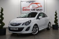USED 2012 62 VAUXHALL CORSA 1.4 SRI 3d 98 BHP *METICULOUSLY CARED FOR, HPI CLEAR*