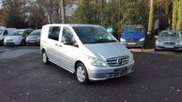 USED 2015 64 MERCEDES-BENZ VITO 2.1 116 CDI DUALINER SWB COMPACT Low Mileage, Air Conditioning