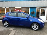 USED 2009 09 HYUNDAI I20 1.4 COMFORT 5d 99 BHP AUX, USB, LOW MILEAGE!! FSH 1 LADY OWNER!