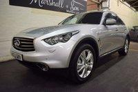 USED 2013 63 INFINITI FX 3.0 FX30D 5d AUTO 235 BHP LEATHER - NAV -STUNNING CAR