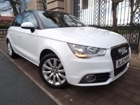 USED 2013 62 AUDI A1 1.2 SPORTBACK TFSI SPORT 5d 86 BHP *** FINANCE & PART EXCHANGE WELCOME *** £ 30 ROAD TAX AIR/CON BLUETOOTH PHONE VOICE COMMAND