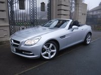 USED 2012 12 MERCEDES-BENZ SLK 1.8 SLK200 BLUEEFFICIENCY 2d AUTO 184 BHP *** FINANCE & PART EXCHANGE WELCOME ***  ELECTRIC ROOF SAT/NAV BLUETOOTH PHONE HEATED SEATS AIR SCARF AIR/CON CRUISE CONTROL