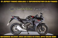 USED 2016 66 HONDA CBR125 125cc  R  GOOD BAD CREDIT ACCEPTED, NATIONWIDE DELIVERY,APPLY NOW