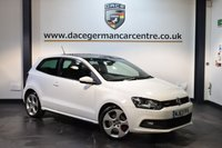 USED 2013 63 VOLKSWAGEN POLO 1.4 GTI DSG 3DR AUTO 177 BHP + FULL VW SERVICE HISTORY + BLUETOOTH + HEATED SPORT SEATS + DAB RADIO + CRUISE CONTROL + HEATED MIRRORS + SUNROOF + PARKING SENSORS + 17 INCH ALLOY WHEELS +